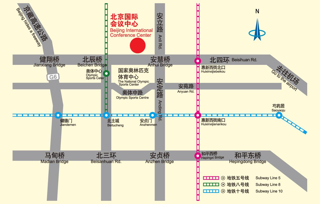 北辰公交车站线路图